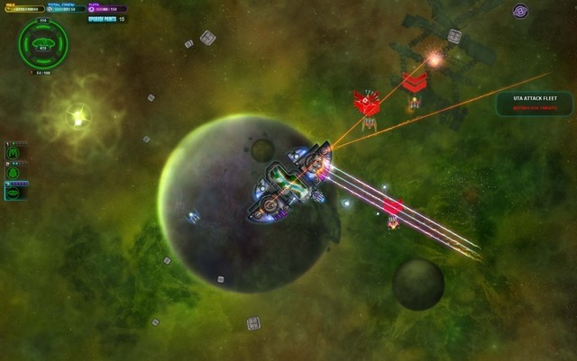 Space Pirates and Zombies is a top-down, space action game with heavy RPG elements.