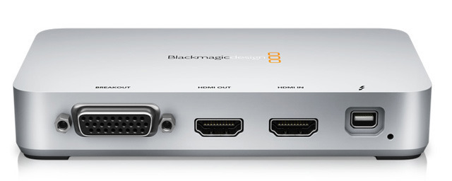 Blackmagic Design's Intensity Extreme video editing box.