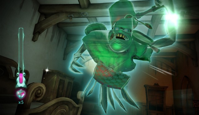 <em>Haunt</em>, created by Tokyo developer Nana-On-Sha, is a spooky game set in a haunted house