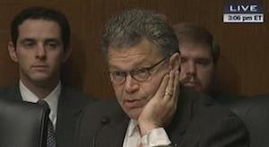 A skeptical Al Franken
