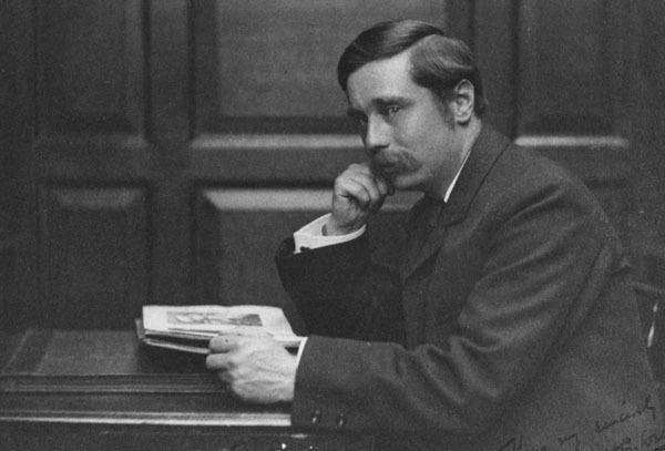 H.G. Wells, circa 1890