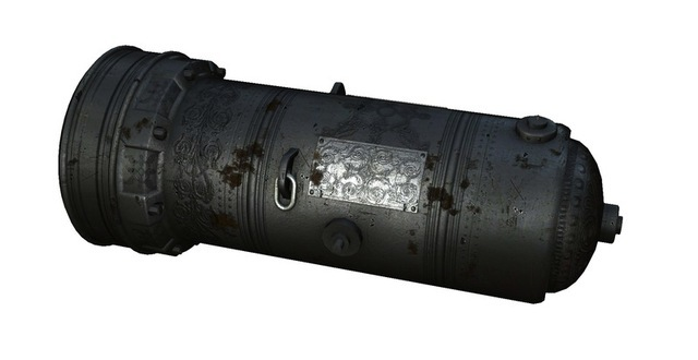 The cannon was reverse-engineered from powerful techno-magical weapons used by Mental's artillery. Cannonballs can be fired in rapid succession and the weapon can be charged to release an incredibly destructive flaming cannonball.