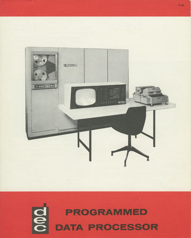 A DEC brochure for the PDP-1