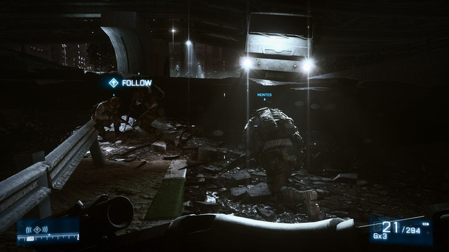 The lighting effects and level design often work together brilliantly