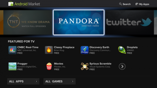 First look: Google TV gets Honeycomb, Android apps | Ars ...