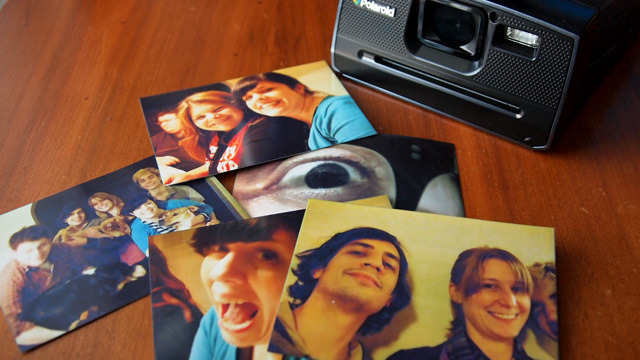 Several prints from a family get-together. Making prints is fun, but using the camera can be frustrating.