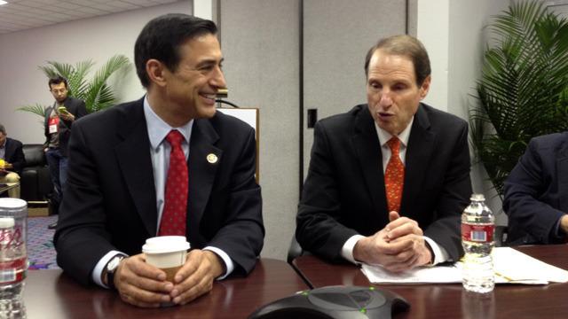 Representative Darrell Issa and Senator Ron Wyden