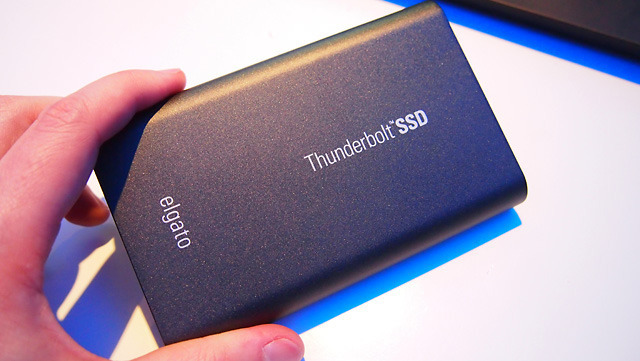 Elgato, most well-known for its TV and video-related products, introduced a mobile Thunderbolt SSD drive that ships in February.