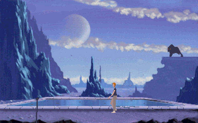 Another World—almost a ScummVM game