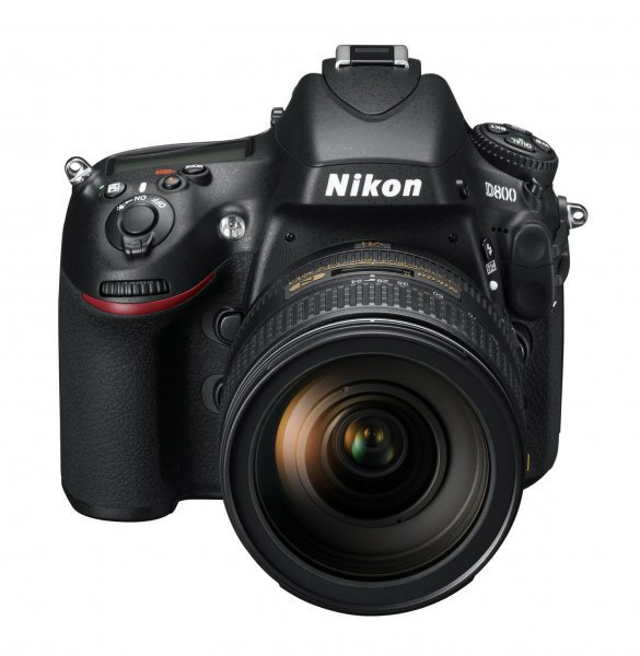 The D800 is sort of a combination of styling between its predecessor, the D700, and it's big brother, the D4.