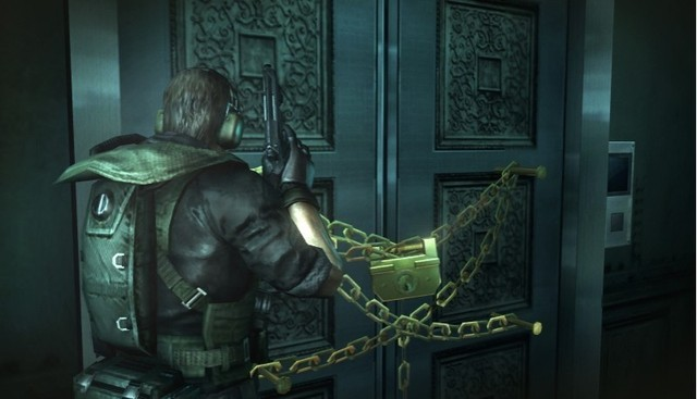 """If only we had some sort of """"Master of Unlocking"""" for this situation. #ResidentEvilInsideJoke"""