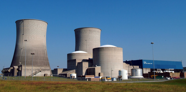 The Watts Bar Nuclear Generating Station in Tennessee was the last in the US to be brought online, in 1996.