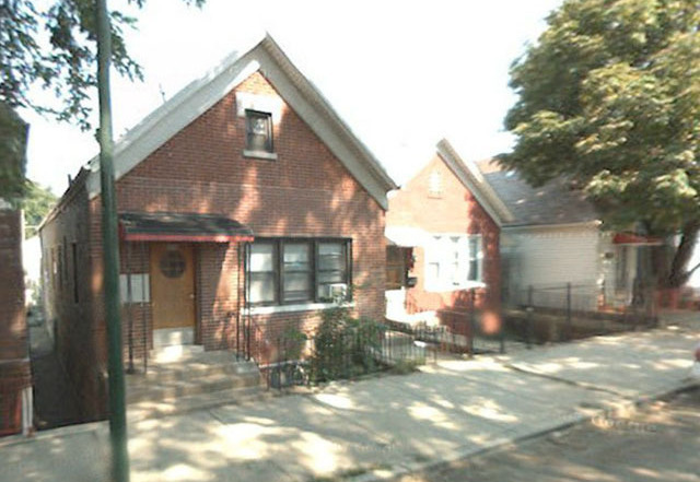 The house on Chicago's south side where Hammond lived
