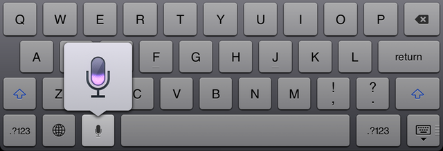 Anywhere you see the microphone button on the keyboard, you can dictate instead.