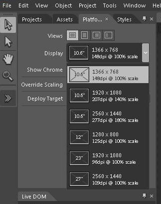 The Expression Blend design tool will also aid developers targeting the different resolutions.