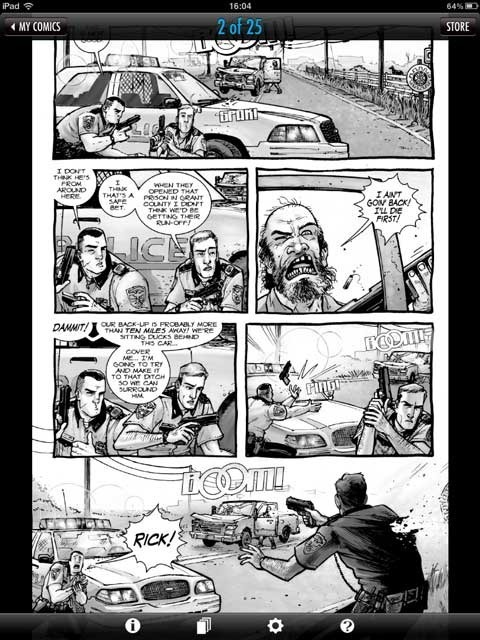Better than the soap opera with zombies on AMC, The Walking Dead as seen on Comics by ComiXology