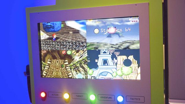 Nintendo 64 gameplay detail