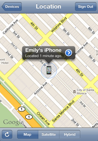 Find My iPhone is meant for your eyes only, but someone with your iCloud password could look at it too