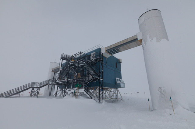The IceCube Lab at Amundsen-­Scott South Pole Station—home of the world's southernmost data center.