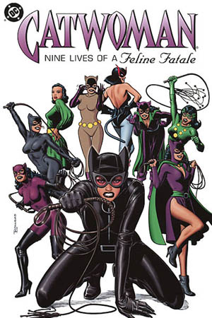Graphic from Wikipedia's Catwoman entry