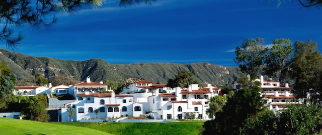 The Ojai Valley Inn and Spa, where the reviews took place