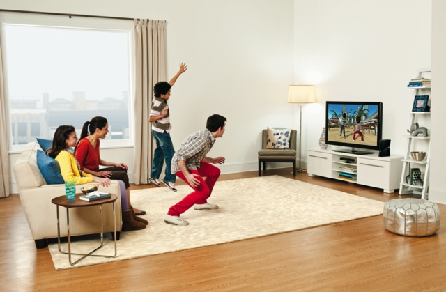 This is how Microsoft imagines your living room. Do you have that much space?