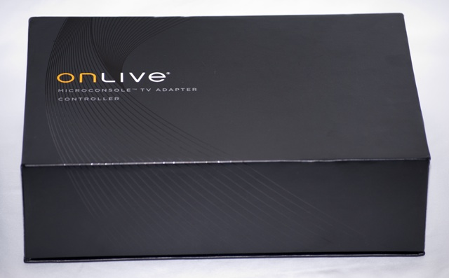 Opening the OnLive box is almost like opening a box for an Apple product. The box is solid, and the presentation is strong.