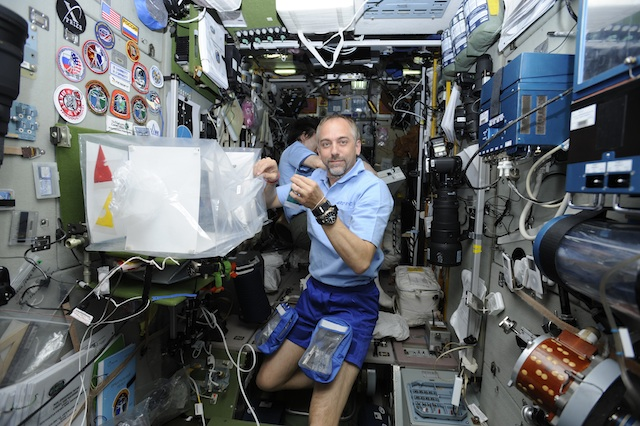 In the International Space Station