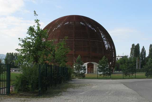 The new CERN visitors' center.