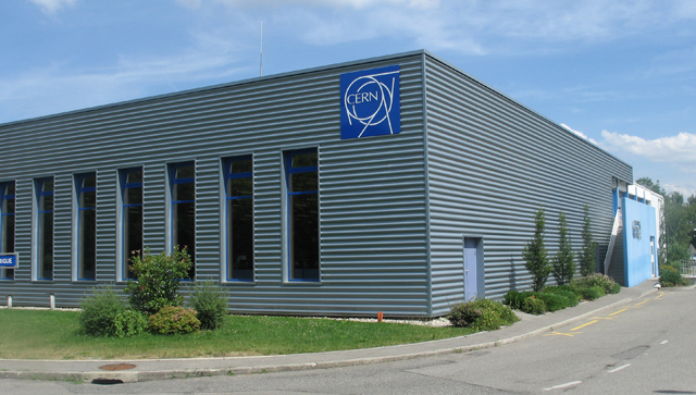 The building that houses the LHC control room is a relatively recent addition to the CERN campus.