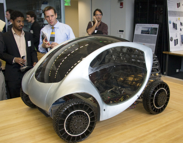 It may be a functioning electric car prototype, but to MIT it's media.
