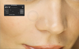 Aperture 3 Skin Smoothing Brush