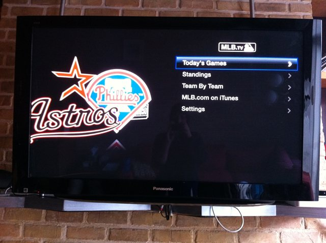 MLB.tv options let you follow single teams and check daily stats.
