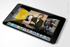 Apple tablet rendering, courtesy Gizmodo