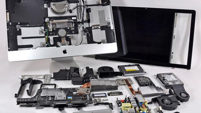 "27"" iMac disassembled"