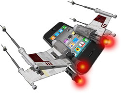 iPhone X-Wing