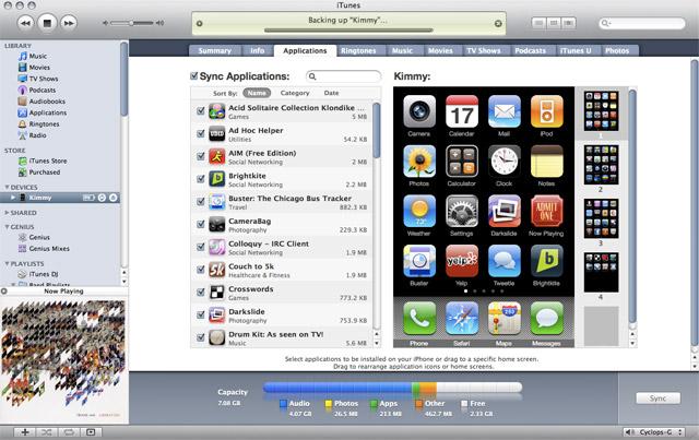 iPhone app organization bliss