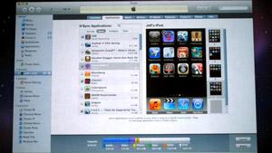 iTunes 9 iPhone app organization