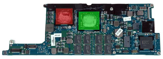 MacBook Air logic board