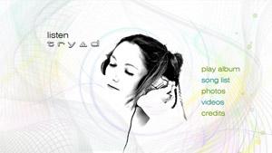 'Listen' iTunes LP menu