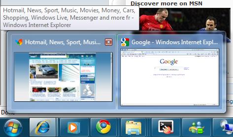 IE8 tab thumbnails