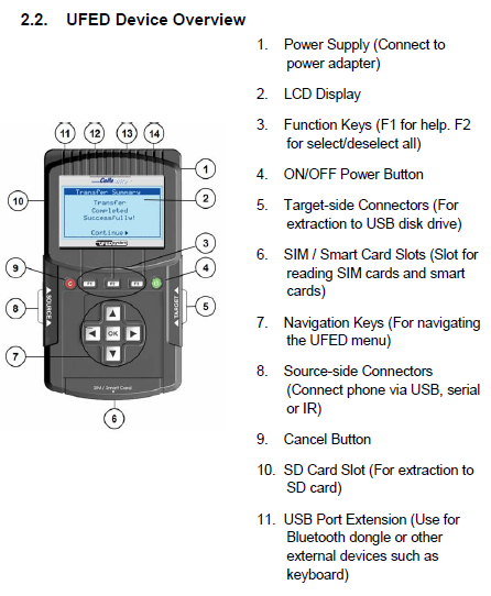 An overview of the CelleBrite