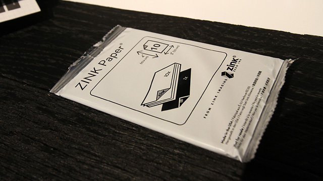 A 10-pack of ZINK paper.