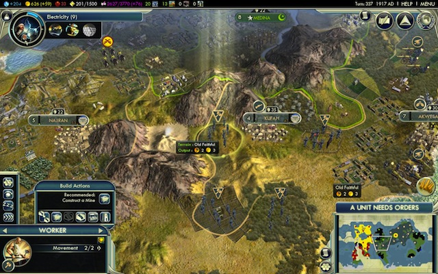 Some Natural Wonders make an appearance in the game, and discovering them gives your civ a boost.