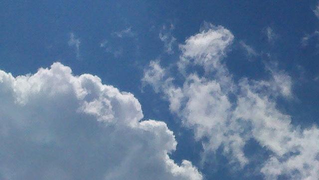 Sky blue sky detail