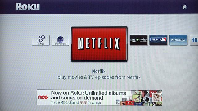 Previous Roku users will feel right at home, since the the UI is identical to older models.