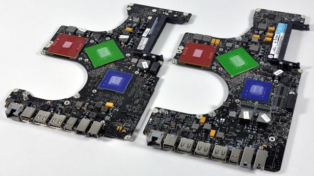 """15"""" and 17"""" MacBook Pro logic board"""