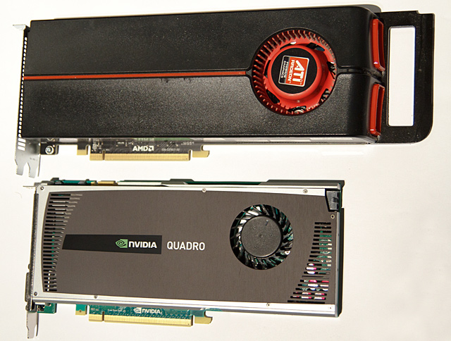 That there is one petite video card. In the machine, it looks like a silver slice of pumpernickel: