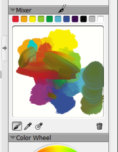 The Painter Essentials Mixer palette. It's badly needed in ArtRage.