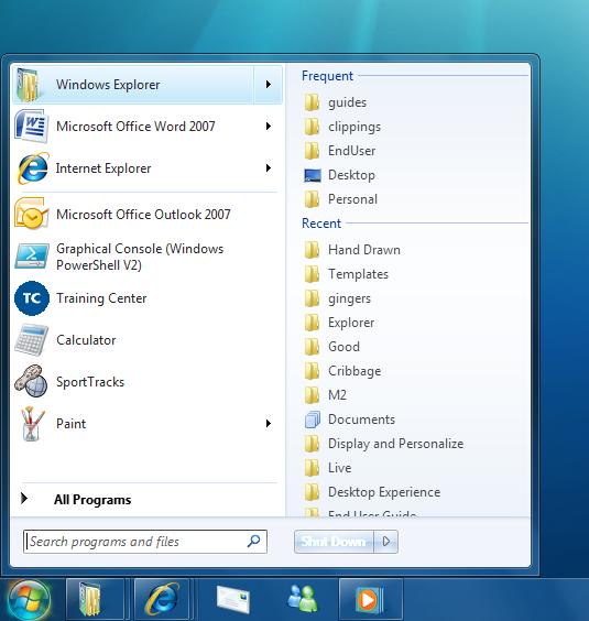 Windows 7 Screenshots